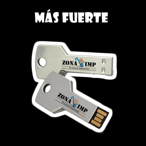 flash memory pendrive 4gb tipo llave metálica  al por mayor