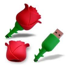 flash memory usb rosas-publicitarias- dibujos personalizados