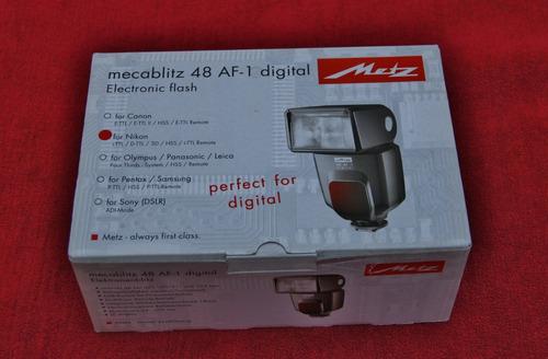 flash metz 48 af- 1 usado