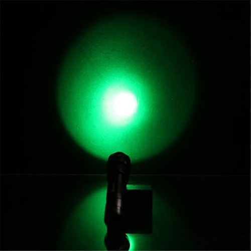 flash mini linterna lt-502b 1 cree q5 5-mode luz azul azul