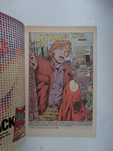 flash nº 21! dc comics dez 1988! em inglês!