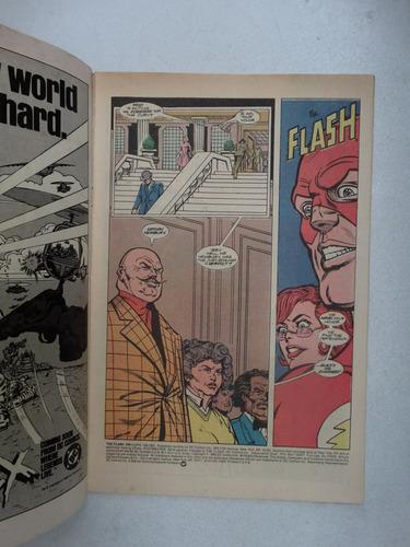 flash nº 349! dc comics set 1985! em inglês!