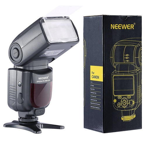 flash neewer nw670 / vk750ii e-ttl para canon rebel nuevo