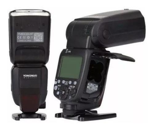flash p/ canon yn600ex-rt ll ttl hss yongnuo - frete grátis