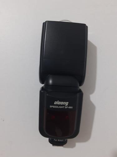 flash para nikon speedlight oloong sp-690