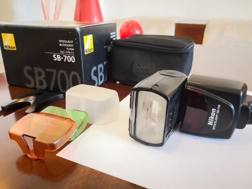 flash p/cámara profesional, nikon sb-700 en perfecto estado