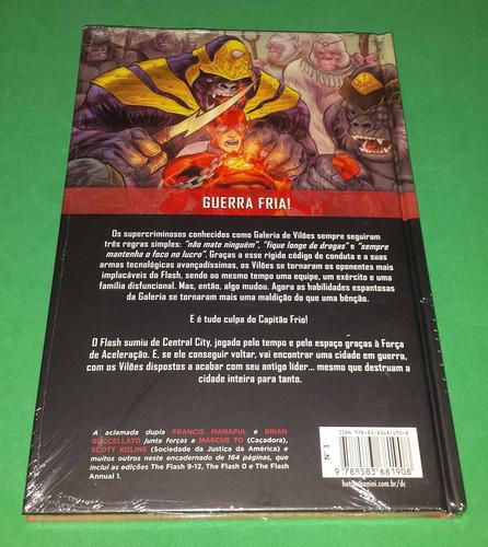 flash revolução dos vilões - capa dura graphic novel hq