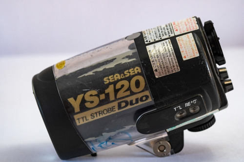 flash sea&sea ys120 ys 120 para fotografia submarina