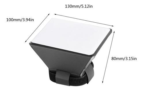 flash softbox difusor para
