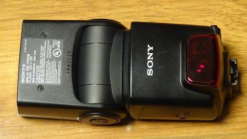 flash sony hvl - f42am con difusor