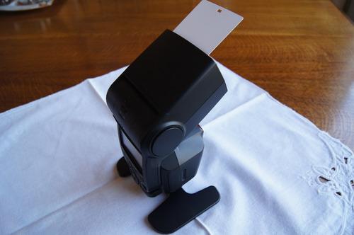 flash sony modelo hvlf43 am, flash de alta potencia !oferta¡
