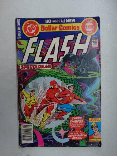 flash spectacular 1978! dc comics! em inglês!