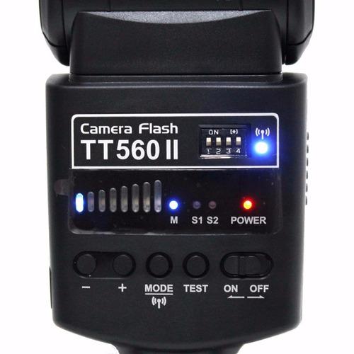 flash speedlite godox tt560 gn38 universal canon nikon sony
