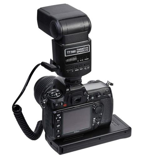 flash speedlite godox tt560 ii com radio flash embutido