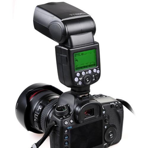 flash speedlite godox tt685c alta velocidade ttl para canon