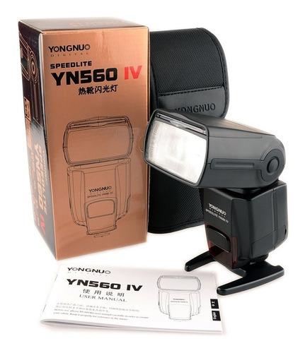 flash speedlite maestro para canon yongnuo yn560 iv