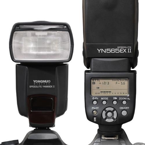 flash speedlite yn565ex ii ttl yongnuo todas câmeras canon
