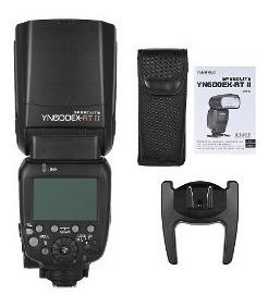 flash speedlite yongnuo yn-600ex-rt ii + rebatedor + difusor