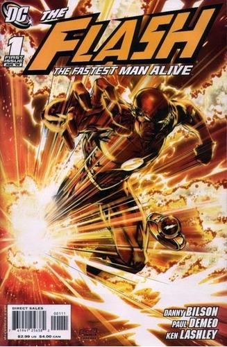 flash the fasters man alive cómics digital español