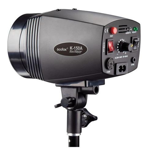 flash tocha godox mini pioneer k150a 150w estúdio