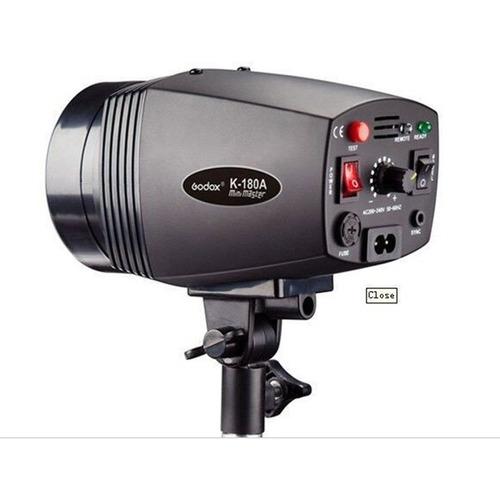 flash tocha p/ estúdio fotográfico godox k180a 180w 110v