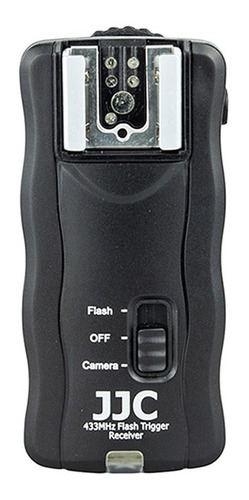flash trigger radio disparador inalambrico 2 receptores