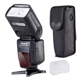 Flash Triopo Tr -988 Para Canon Y Nikon Ttl Y Manual