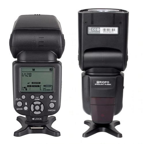 flash triopo tr-586 exc tr 586 exc wireless ttl câmera canon