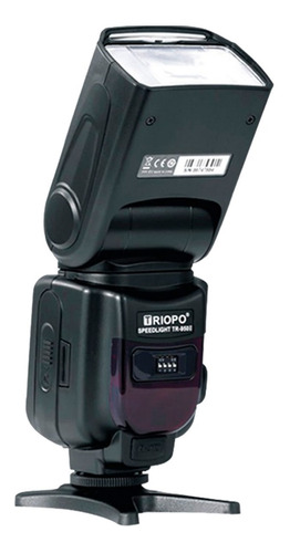 flash triopo tr950ii p/ canon nikon fuji + difusor
