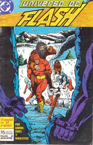 flash universo dc nº 9 ( 52 páginas ) editorial zinco