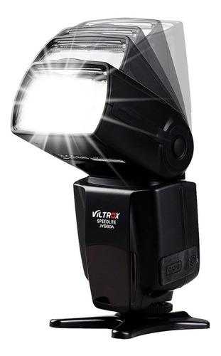 flash - viltrox jy680a - para canon t3i, t5, t5i, t6, t6i