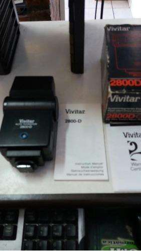 flash vivitar 2800d auto thyristor