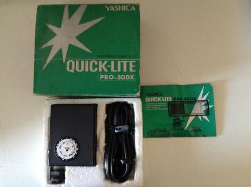 flash yashica quick-lite pro-50dx