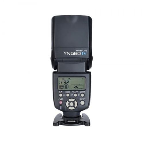 flash yongnuo 560 iv con receptor integrado y modo maestro
