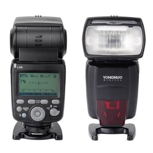 flash yongnuo speedlite yn686ex rt p/ canon bateria lithium