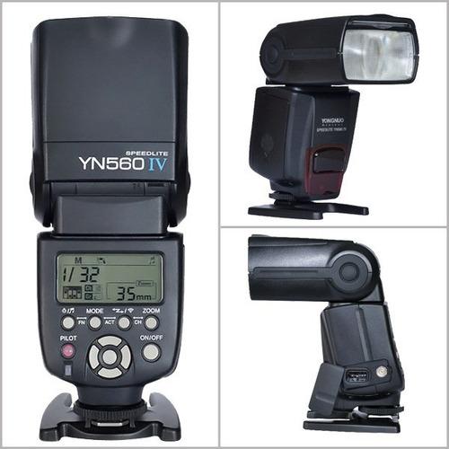 flash yongnuo yn 560 iv con receptor integrado envio gratis!