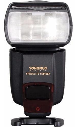 flash yongnuo  yn-565ex pra nikon novo nota fiscal 12x
