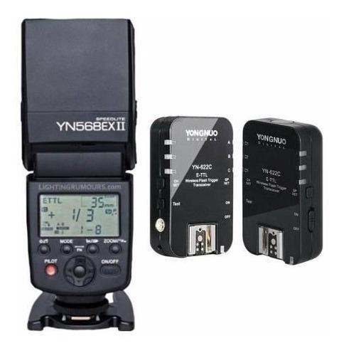 flash yongnuo yn-568exii yn 568ex par radios 622n ii 622c ii