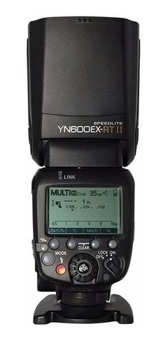 flash yongnuo yn- 600ex rt ii speedlite para canon
