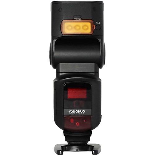 flash yongnuo yn-968ex-rt com radio embutido - canon