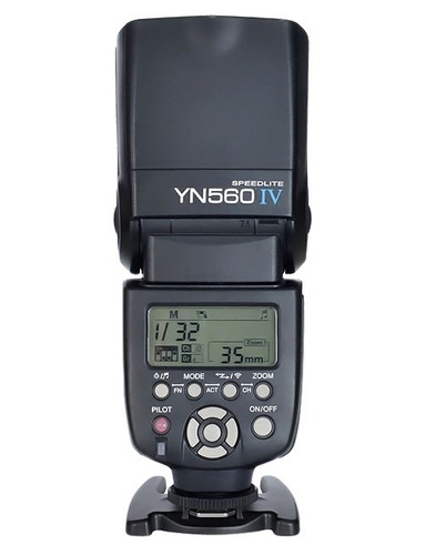 flash yongnuo yn560 iv cuarta generación del clásico yn560
