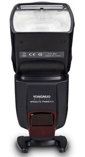flash yongnuo yn565ex ill speedlite  canon+ difusor brinde