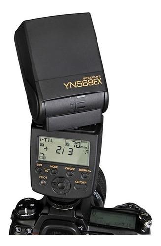 flash yongnuo yn568ex ttl ex iii nikon canon t5i d3400 d5500