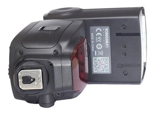 flash yongnuo yn660 universal para canon e nikon 12x s/juros
