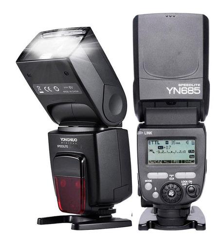 flash yongnuo | yn685 | para nikon | ttl | hss.