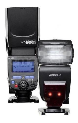 flash yongnuo yn685 ttl hss +difusor nikon + envío gratis