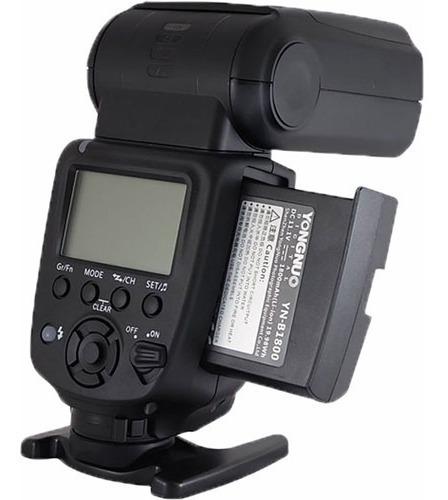 flash yongnuo yn860li kit - flash universal à bateria