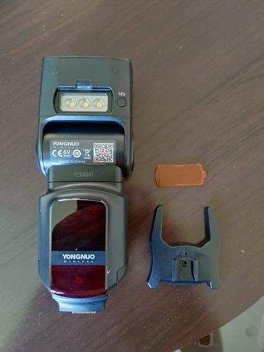 flash yongnuo yn968n ttl speedlite para câmeras nikon
