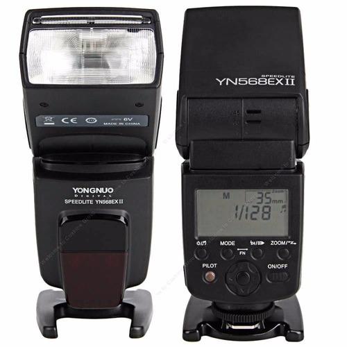 flash youngnuo 568 ex ii para canon