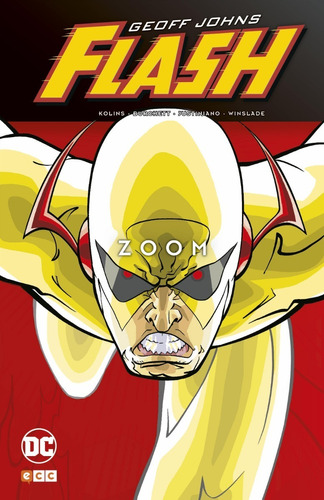 flash zoom - dc ecc comics - robot negro